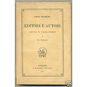 EDITORI E AUTORI Piero Barbera 19 04 barbera ed.