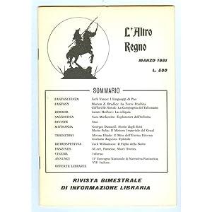 L'ALTRO REGNO 1981 n. 3