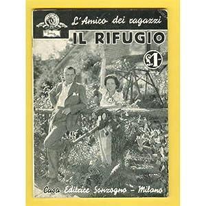 cinema IL RIFUGIO Sonzogno 1935 O' Sullivan Monrgomery