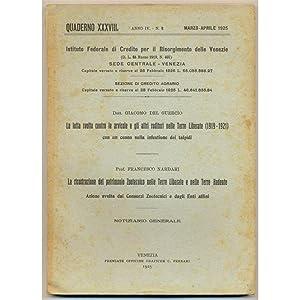 venezia QUADERNO 1925 n. 2 La lotta contro le arvicole nelle Terre Liberate