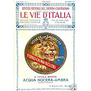 Touring Club Italiano LE VIE D'ITALIA n.11