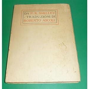 da PERCY BYSSHE SHELLEY trad. Roberto Ascoli ill. Marussig Venezia 1909: Percy Bysshe Shelley
