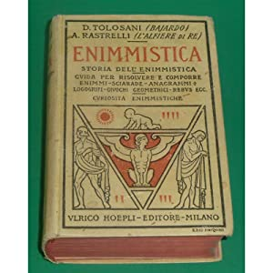 ENIMMISTICA: Demetrio Tolosani, Alberto Rastrelli