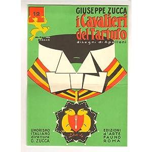 volantino pubblicitario EDIZIONI D'ARTE FAUNO Il Cavaliere del Tartufo anni '20