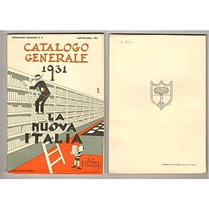 Catologo Generale 1931 LA NUOVA ITALIA