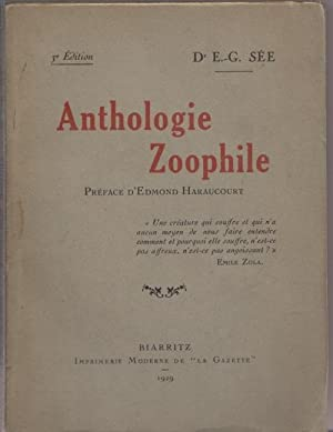Anthologie zoophile