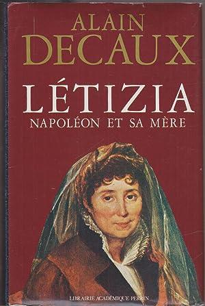 Létizia Napoléon et sa mère: DECAUX, Alain