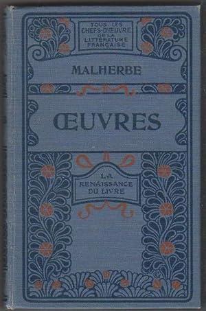 Oeuvres: MALHERBE