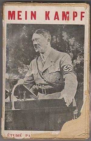 Mein Kampf, étudié par un Français moyen: HITLER, Adolf