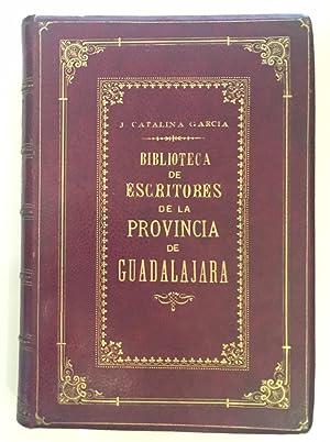 Biblioteca de Escritores de la Provincia de: CATALINA GARCÍA, Juan
