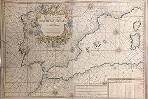 Nouvelle Carte Générale de la Mer Mediterranée: MICHELOT & BREMOND