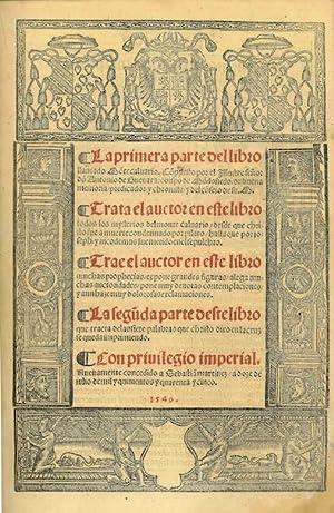 La primera parte del libro llamado Monte: GUEVARA, Antonio de