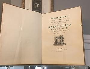 Descrizione degli onori funebri renduti in Roma: ANÓNIMO]