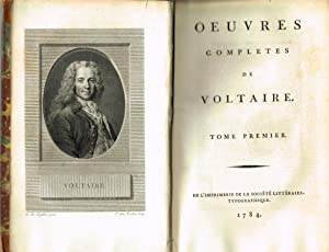 Oeuvres complètes: VOLTAIRE