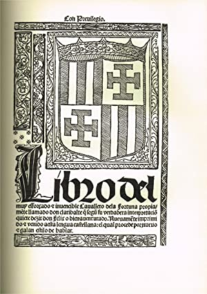 Libro del muy esforzado e invencible caballero: FERNÁNDEZ DE OVIEDO,