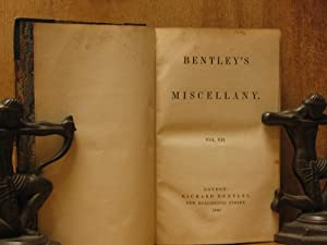 Bentley's Miscellany, Volume VII (Seven, 7): Various Authors; Illustrations by George ...