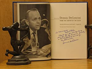 Senator Dennis DeConcini : From the Center of the Aisle (SIGNED): DeConcini, Dennis; Jack L. August...