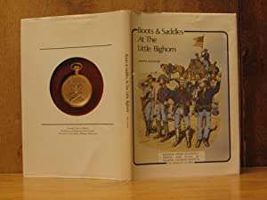 Boots & and Saddles at the Little Bighorn (SIGNED): Hutchins, james S.