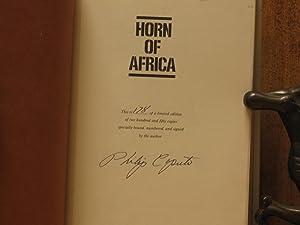 Horn of Africa (SIGNED): Caputo, Philip