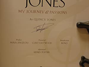 The Complete Quincy Jones : My Journey and Passions (SIGNED)