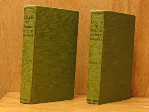 A Cycle of Adams Letters 1861-1865; Volumes One and Two, Complete ( 1, 2, I, II)