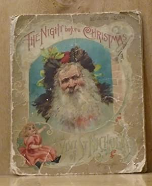 The Night Before Christmas or a Visit of St. Nicholas (Mounted on Linen)