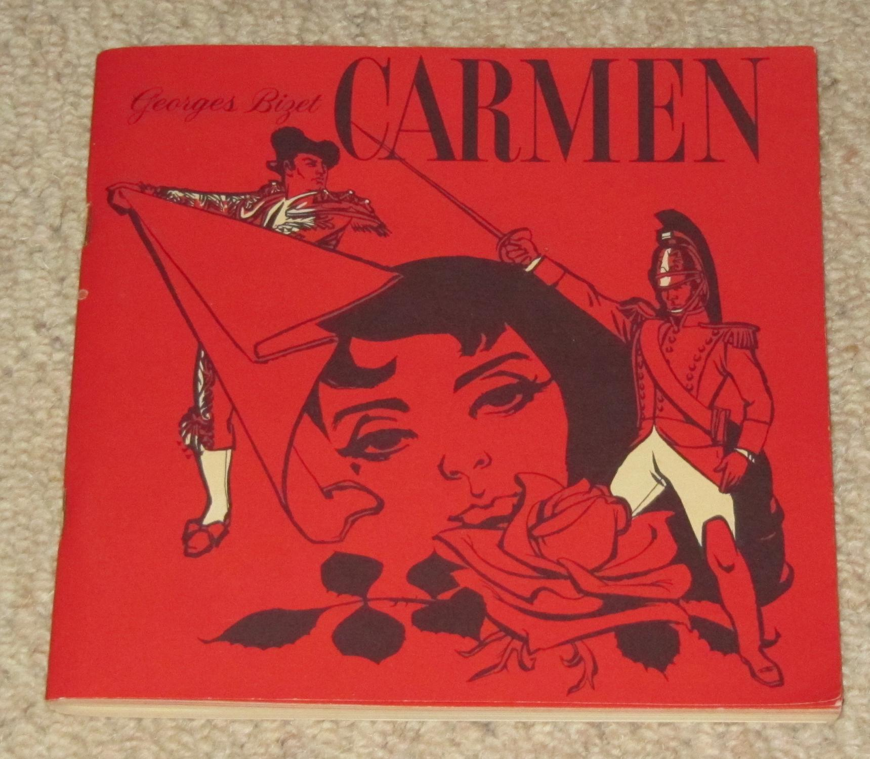 carmen opera in four acts by bizet georges berezowsky alice
