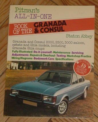 all-in-one book of the ford granada and consul: staton abbey