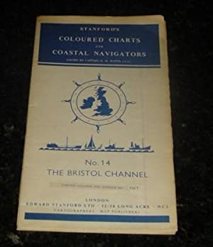 Stanford's Coloured Charts for Coastal Navigators - No. 14 The Britol Channel