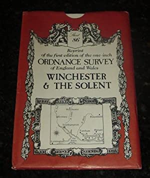 Reprint of the first edition of the one-inch Ordnance survey of England and Wales - Winchester & ...