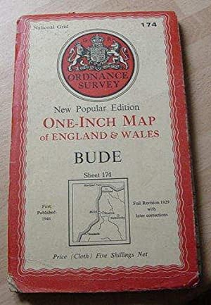 Bude - One Inch Map - Sheet 174