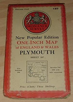 Plymouth - One Inch Map - Sheet 187