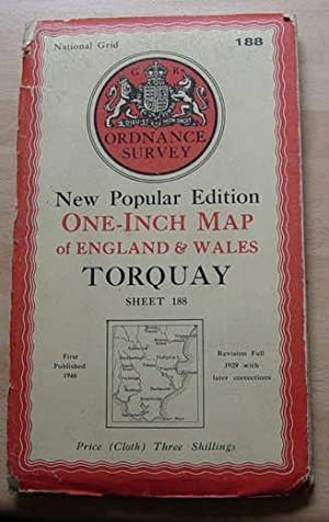 Torquay - One Inch Map - Sheet 188