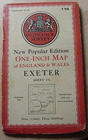Exeter - One Inch Map - Sheet 176
