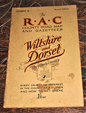 The R.A.C County Road Map and Gazeteer - Wiltshire and Dorset (The Hardy Country) - Number 16 of ...