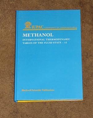 Methanol - International Thermodynamic Tables of the: De Reuck, K.M;