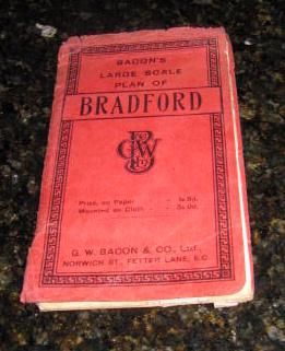 Bacon's Large Scale Plan of Bradford (With Street Index)