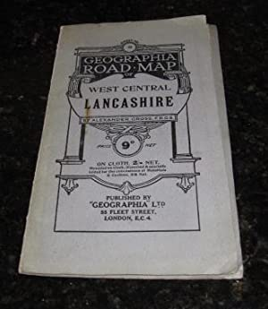 Geographia Road Map of West Central Lancashire - Sheet No.94