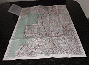 Geographia Road Map of West Central Lancashire - Sheet No.94: Cross, Alexander