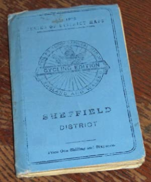Philip's Cycling Map of Sheffield And District.