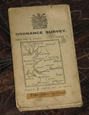 Ordnance Survey England & Wales - Sheet 2 - Scale: Quarter Inch To A Mile