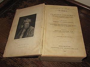 The Works of Flavius Josephus - The: Flavius Josephus; Whiston,
