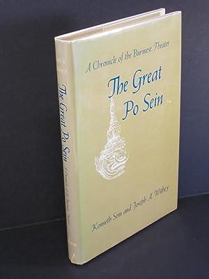 The Great Po Sein: Sein, Kenneth (Maung