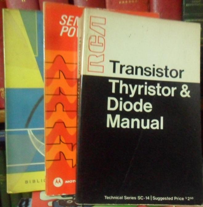 TIRATRONES + TRANSISTOR THYRISTOR & DIODE MANUAL + SEMICONDUCTOR POWER CIRCUITS HANDBOOK (3 libros) C. M. SWENNE // [Good] [Softcover] (bi_22610653001) photo