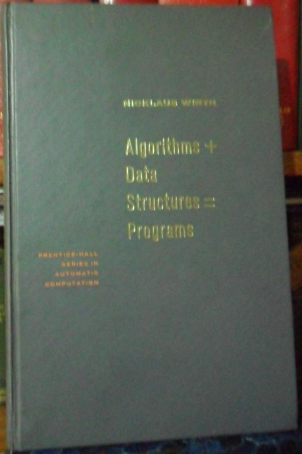 ALGORITHMS + DATA STRUCTURES = PROGRAMS (CON
