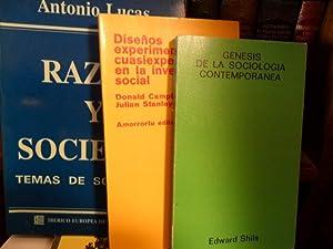 RAZÓN Y SOCIEDAD Temas de Sociología +: ANTONIO LUCAS //