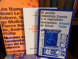 EL PARTIDO COMUNISTA FRANCÉS Y EL CAPITALISMO: JACQUES VALIER //