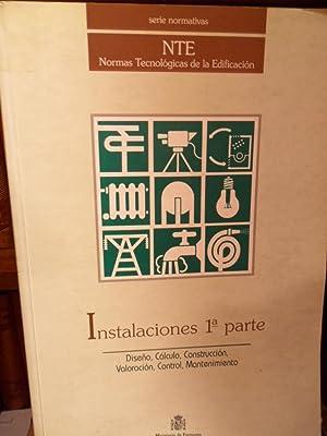 Serie Normativas - NTE Normas Tecnológicas de la Edificación - INSTALACIONES 1ª ...
