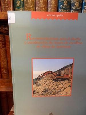Serie monografías - RECOMENDACIONES PARA EL DISEÑO Y CONSTRUCCIÓN DE MUROS DE ...