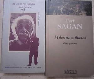Miles de millones + Mi visión del: Carl Sagan //
